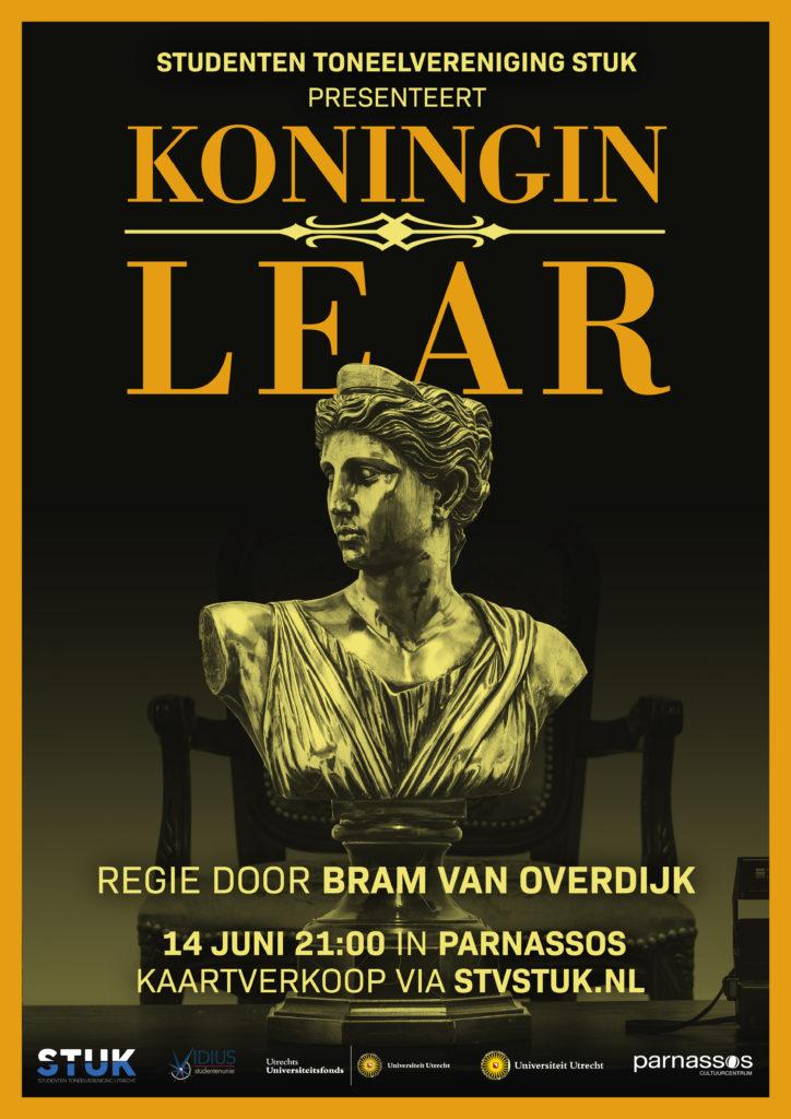 Koningin Lear STV STUK poster